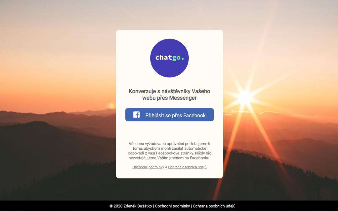 Jak projít schvalovacím procesem pro Facebook Messenger Bota.